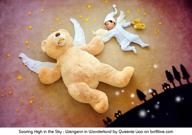 Soaring High in the Sky - Creative Baby Photography by Sioin Queenie Liao