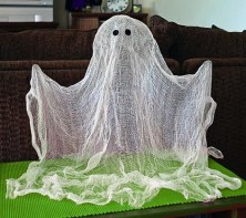 Awesome DIY Halloween Floating Ghost