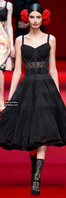 Dolce & Gabbana Spring 2015 RTW