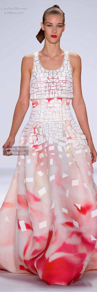 Carolina Herrera Spring 2015