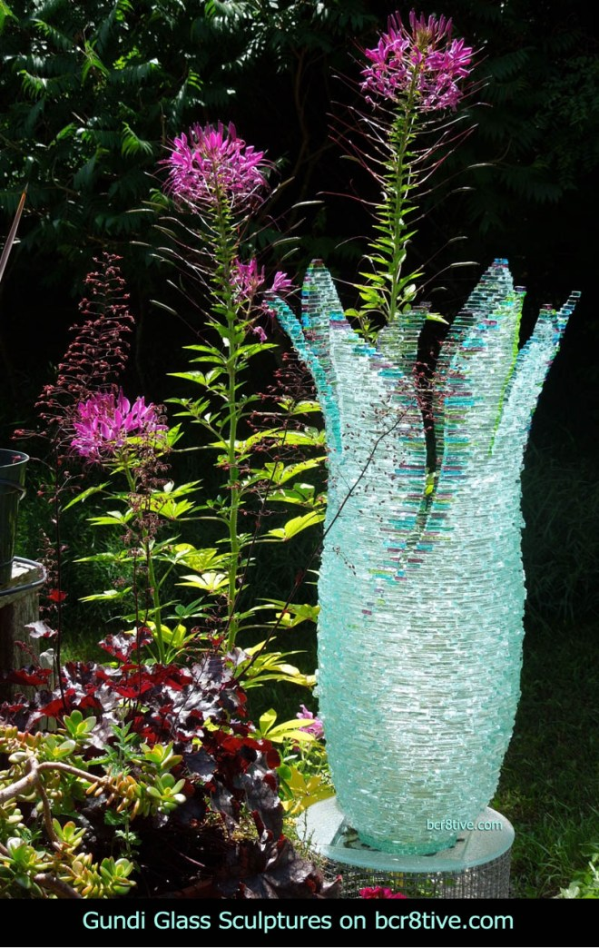 Gundi Glass Sculptures Wildfire