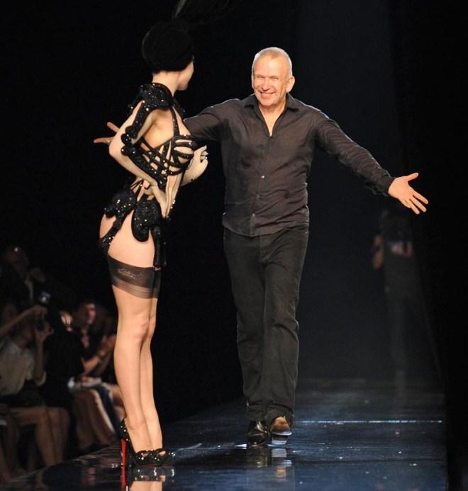 Jean Paul Gaultier Skeleton Corset for Dita Von Teese