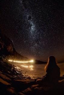 Girl by the Stars ~ via Stargazer