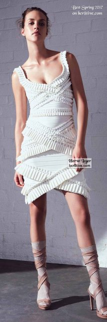 Herve Leger - The Best Looks from New York Fashion Week Spring 2017