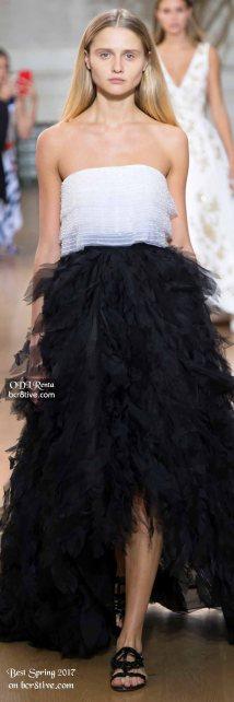 Oscar de la Renta - The Best Looks from New York Fashion Week Spring 2017