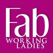 "FAB ""Fabulous Working Ladies"" logo"