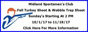 Turkey & Wobble Shoot Midland Sportsmen's Club