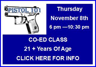 Pistol 101 Class
