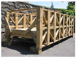 Design and Construction of a Timber Bridge (National Timber Bridge Design Competition)