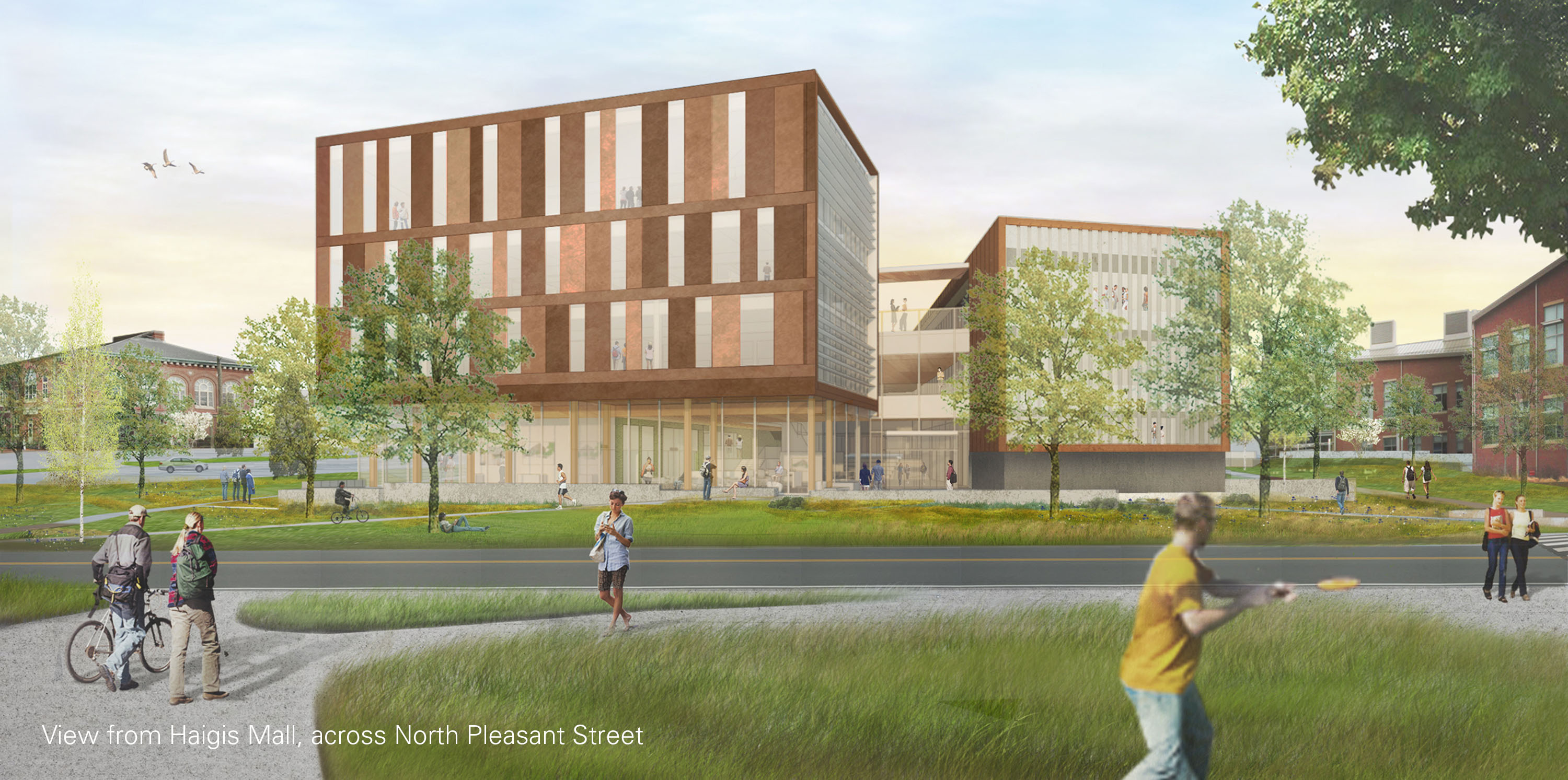 The john w olver design building at umass amherst for New building design