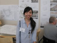 LARP alumnus Ngoc explained the landscape design