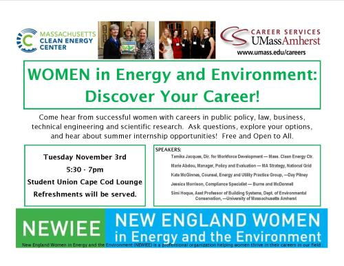 Women In Energy Flyer