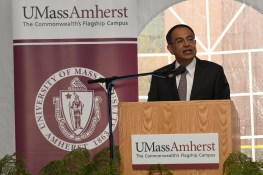 Chancellor Subbaswamy (UMass/Thomas Kendall)