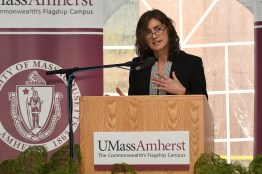 Trimble's VP Roz Buick (UMass/Thomas Kendall)