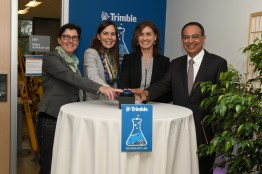 Trimble Technology Lab opening (UMass/Thomas Kendall)