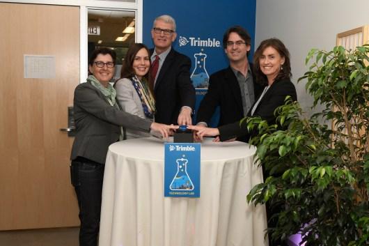 Trimble Technology Lab opening (UMass/Thomas Kendall)
