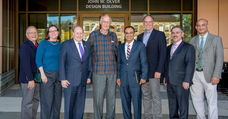 Design Building at UMass Amherst Named for Former U.S. Rep. John W. Olver