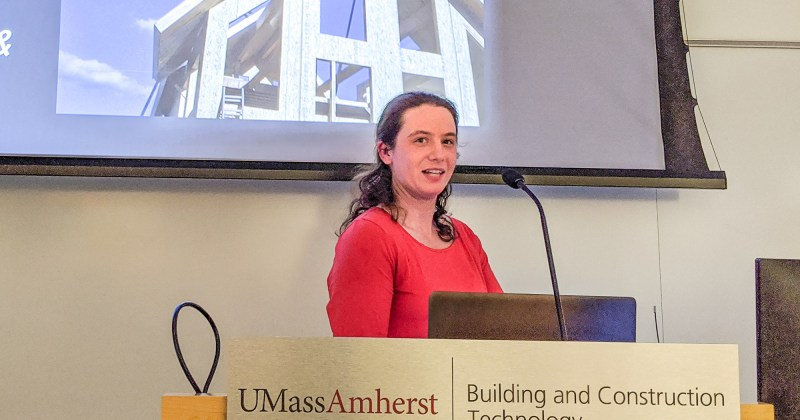 Alison Moynihan presents her hopes for the Panelized Construction Industry