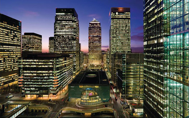 financial industry securities transaction - Canary Wharf
