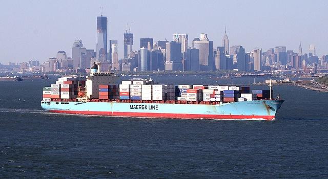 Maersk blockchain shipping