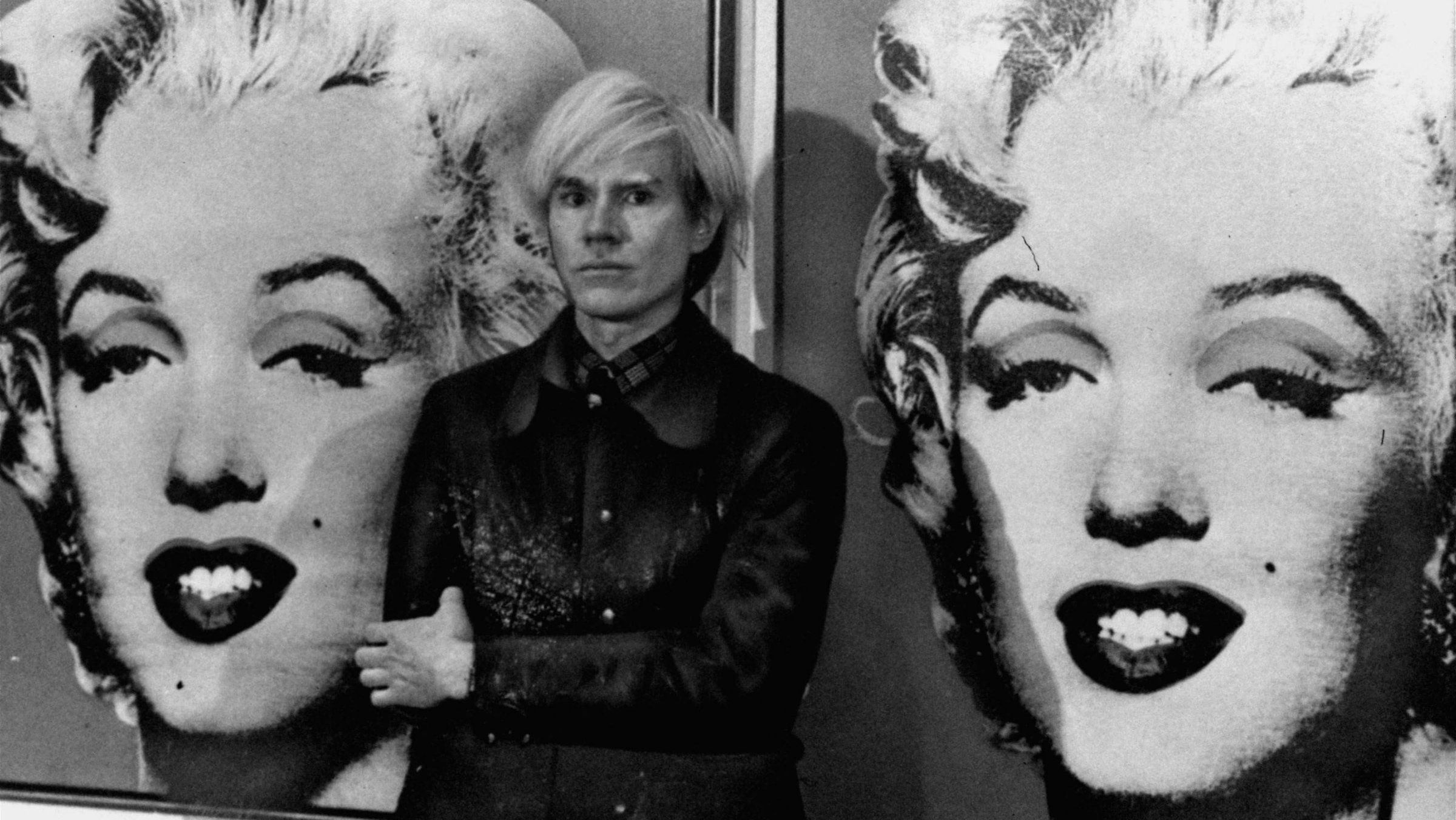art market with blockchain andy warhol