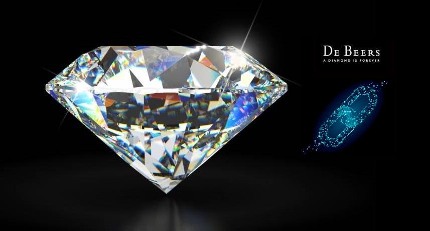 De Beers diamond blockchain