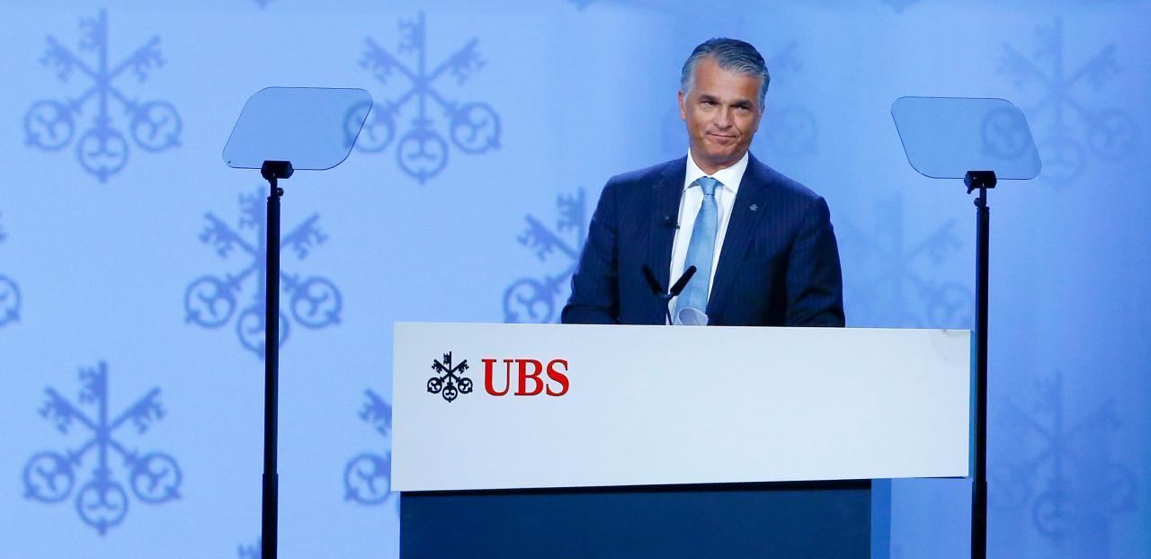 Sergio Ermotti, CEO of UBS believes blockchain technology