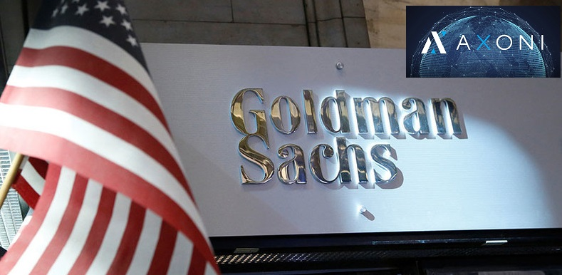 goldman sachs investment in enterprise blockchain startup axoni