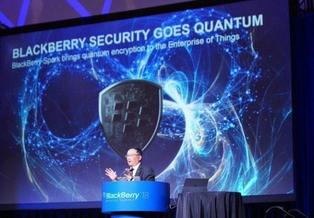 blackberry blockchain medical data platform