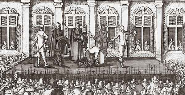 Execution of Charles the First