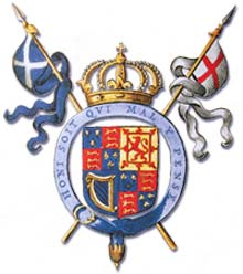 Badge of the Stuart dynasty