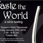 Taste the world on January 25th! Get your tickets today