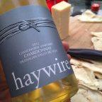 Haywire's bright, tasty Canyonview Vineyard Chardonnay