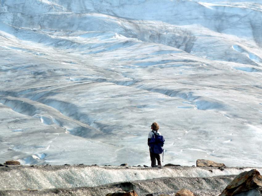 Awe of the Walker Glacier