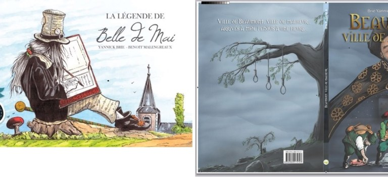 Yannick Brie : dessinateur du terroir wallon (et hennuyer !)