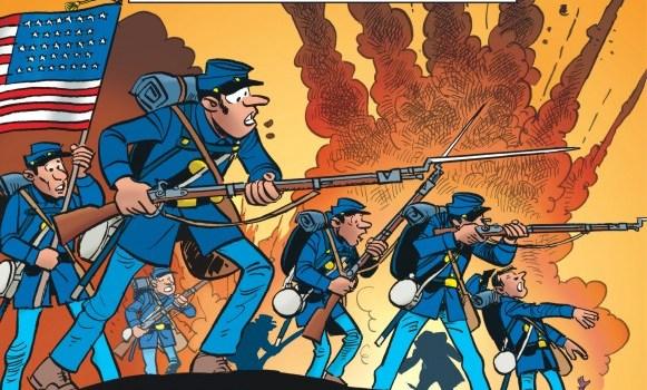 Les Tuniques Bleues : 63. La Bataille Du Cratère