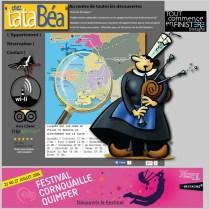 cheztatabea site realise par bd communication agence web a quimper