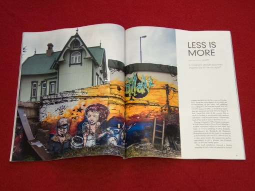 """Less Is More"" by luke kurtis in Iceland Review (Vol 52, April-May 2014)"