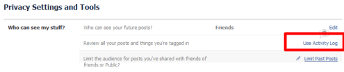 Facebook- privecy- settings