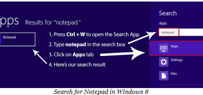 Search natepad  for windows 8