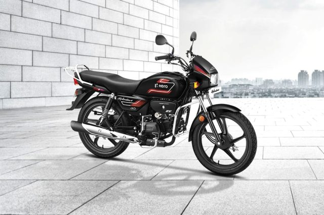 Hero Splendor Plus Price BS6 , Mileage, Images, Colours