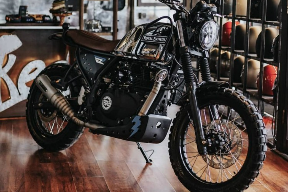 Royal Enfield Himalayan Gets The Flavour Of A Scrambler Gaadi