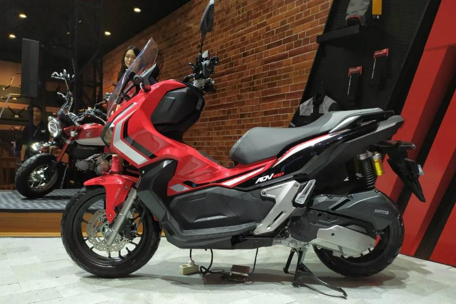 Honda Unveils Adv 150 Adventure Scooter In Indonesia Bikedekho