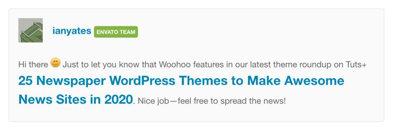 Newspaper Woohoo - 1