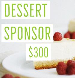 Dessert sponsor