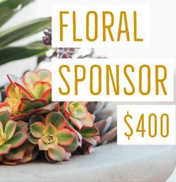 Floral sponsor