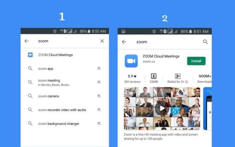 Zoom cloud meeting app জুম অ্যাপ কিভাবে ডাউনলোড করব