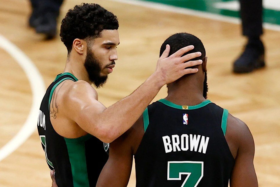 Jayson Tatum on Jaylen Brown: 'We just really want to win'