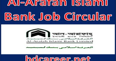 Al-Arafah Islami Bank Job