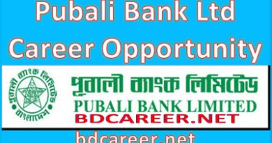 Pubali Bank Limited Career Opportunity